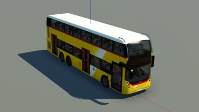 Photo of Transport Fever 2 – ADL Enviro500MMC 3-Door – Switzerland