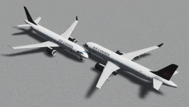 Photo of Cities Skylines – Airbus A220-300 Air Canada