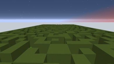Photo of Minecraft – An Empty Space Maze Map