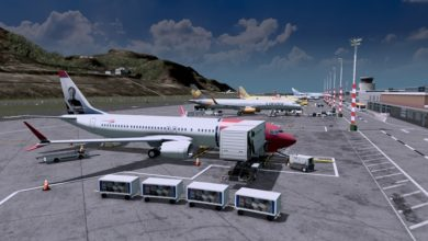 Photo of Cities Skylines – Boeing 737-8 Max Norwegian Air