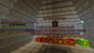 Photo of Minecraft – Crash Bandicoot – The Lost World Parkour Map