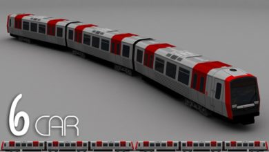Photo of Cities Skylines – D3S Hamburg U-Bahn Type DT5 6Car