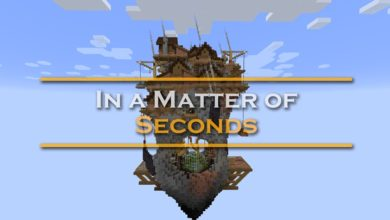 Photo of Minecraft – In A Matter of Seconds Map