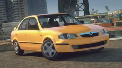 Photo of GTA 5 – Mazda 323 1999 Car Mod