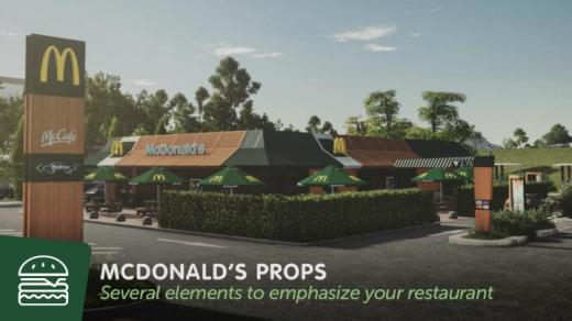 Photo of Cities: Skylines – McDonalds  Props