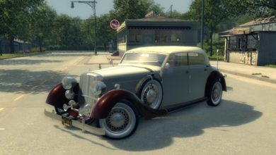 Photo of Mafia 2 – Mercedes-Benz 320 1938 Car Mod
