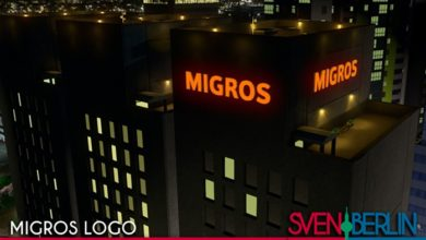 Photo of Cities Skylines – Migros Logo