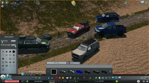 Photo of Cities: Skylines – Off Road Pickups and SUV Prop Pack
