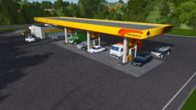 Photo of Cities Skylines – Rosneft Gas Station