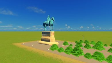 Photo of Cities Skylines – Statue of a Knight