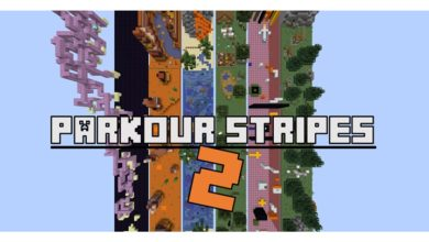 Photo of Minecraft – Stripes 2 Parkour Map