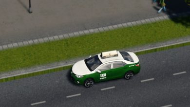 Photo of Cities Skylines – Metro Cab 2014 Toyota Corolla