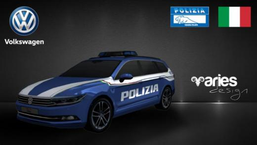 Photo of Cities: Skylines – Volkswagen Passat Polizia di Stato