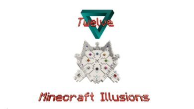 Photo of Minecraft – 12 Optical Illusions Map
