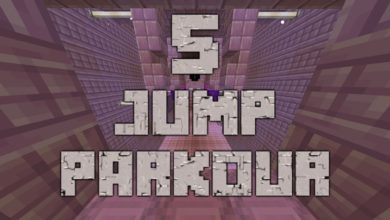Photo of Minecraft – 5 Jumps Parkour Map