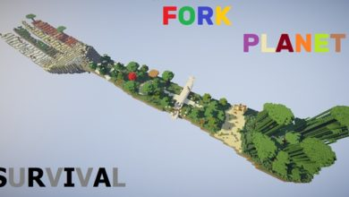 Photo of Minecraft – Fork Planet Survival Map