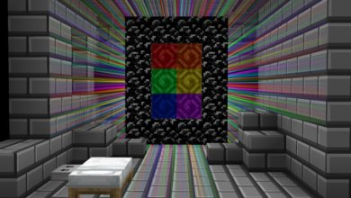 Photo of Minecraft – Rainbow Escape Puzzle Map