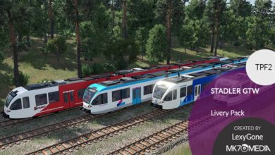 Photo of Transport Fever 2 – Stadler GTW