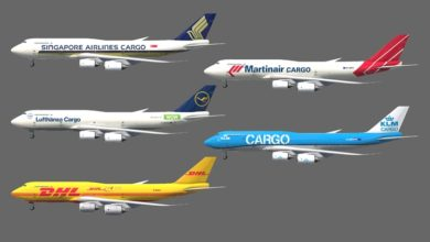 Photo of Transport Fever 2 – Boeing 747 Cargo Pack