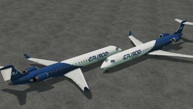 Photo of Cities Skylines – Bombardier CRJ900NG House Plane