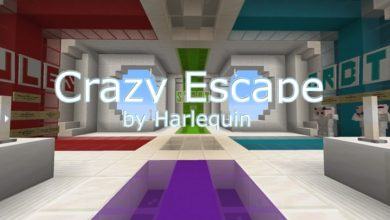 Photo of Minecraft – Crazy Escape Map