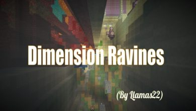 Photo of Minecraft – Dimension Ravines Parkour Map