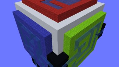 Photo of Minecraft – Distorted Tunnels Maze Map