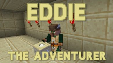 Photo of Minecraft – Eddie The Adventurer Puzzle Map