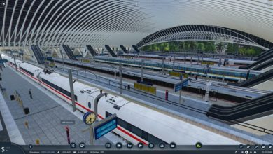 Photo of Transport Fever 2 – Liege-Guillemins Railway Station