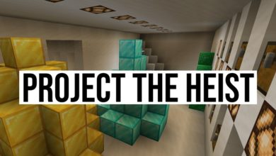 Photo of Minecraft – The Heist Puzzle Map