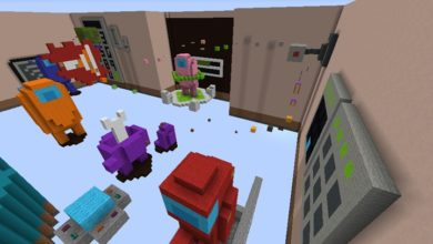 Photo of Minecraft – Among Us Parkour Map