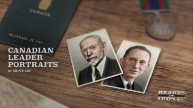 Photo of Hearts of Iron IV – Canadian Leader Portraits