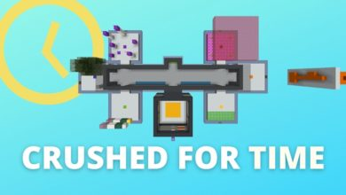 Photo of Minecraft – Crushed for Time Puzzle Map