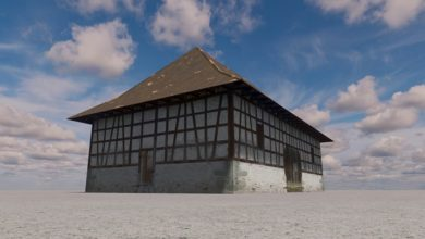 Photo of Cities Skylines – Half Timbered Barn