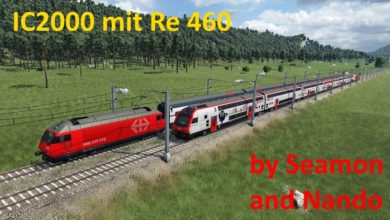 Photo of Transport Fever 2 – IC2000 Mit Re 460