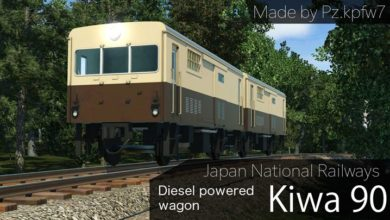 Photo of Transport Fever – JNR Kiwa90 Diesel-Powered Wagon