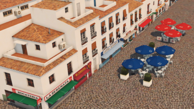 Photo of Cities Skylines – Mediterranean Store Pack