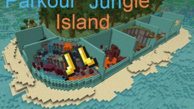 Photo of Minecraft – Parkour Jungle Island Map