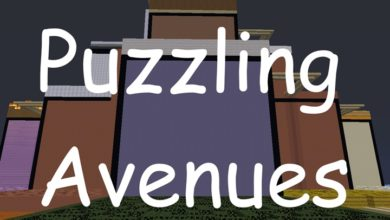 Photo of Minecraft – Puzzling Avenues Maze Map
