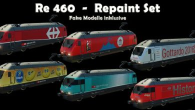 Photo of Transport Fever 2 – Re 460 Repaint Set