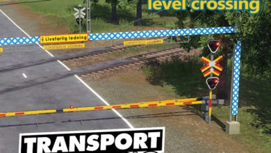 Photo of Transport Fever 2 – Swedish Modern Level Crossing V1.0