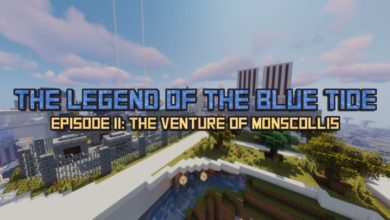 Photo of Minecraft – The Legend of The Blue Tide: Episode 2 Adventure Map