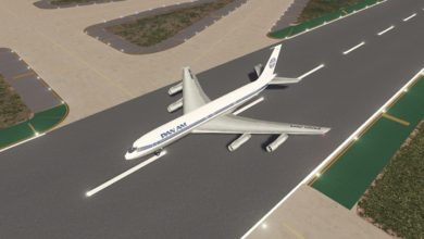 Photo of Cities Skylines – Boeing 707-320C Pan-Am Airlines