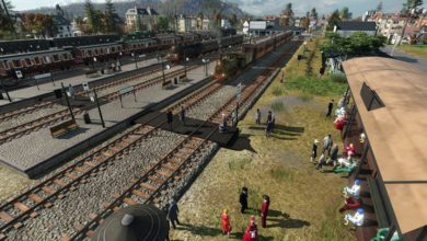 Photo of Transport Fever 2 – Pedestrian Track Crossing Modules 1.1