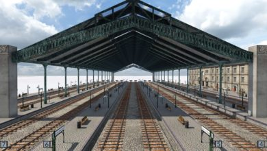 Photo of Transport Fever 2 – Perrache Modular Station Roof