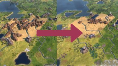 Photo of Civ 6 – Reduced Mountain Clumping