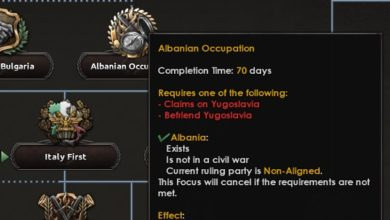 Photo of Hearts of Iron IV – Rescue of Albania