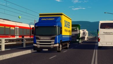 Photo of Cities Skylines – Scania P250 4×2 Dachser Truck