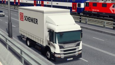 Photo of Cities Skylines – Scania P250 4×2 DB Schenker (Delivery)