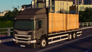Photo of Cities Skylines – Scania P320 6×2*4 Flatbed (Forestry)
